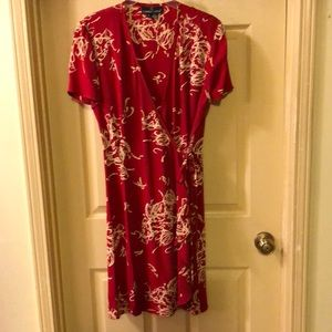 Carole Little wrap dress